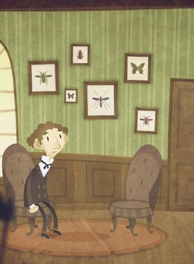 The Franz Kafka Videogame Key Art