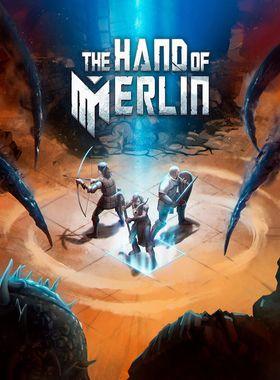 The Hand of Merlin Key Art