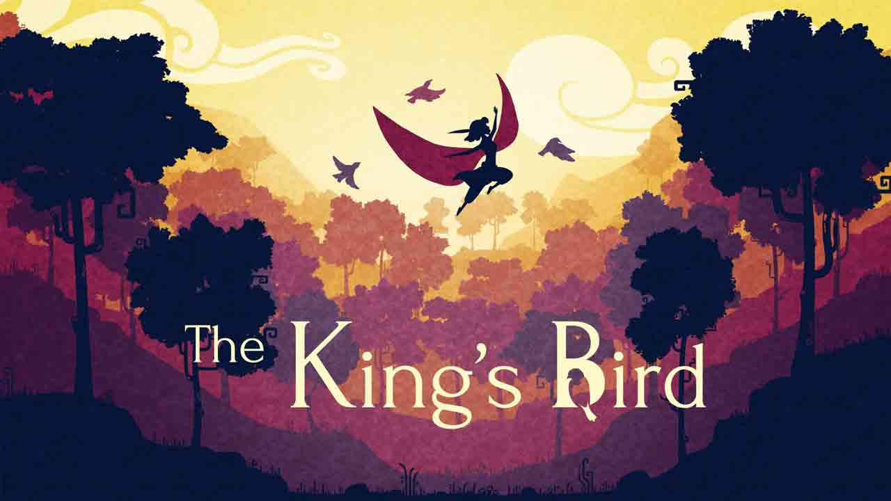 The King's Bird Background Image