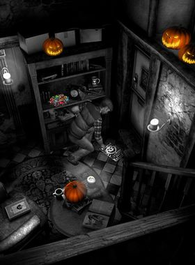 The Last Crown: Midnight Horror Key Art