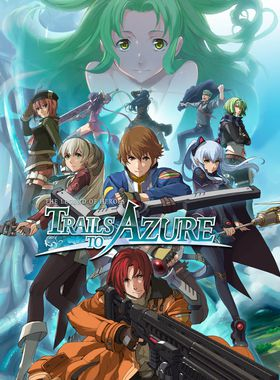 The Legend of Heroes: Trails to Azure Key Art