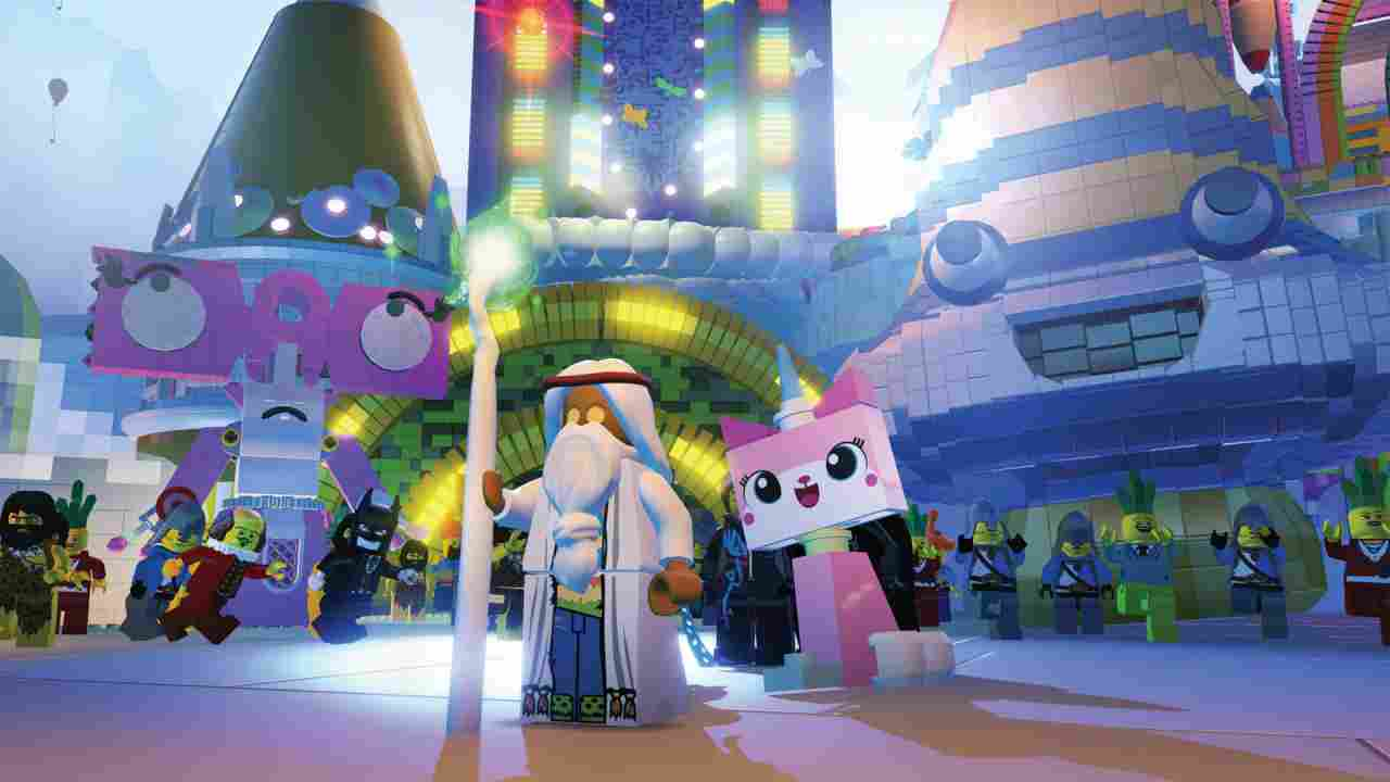 The LEGO Movie Videogame Background Image