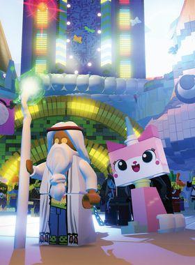 The LEGO Movie Videogame Key Art