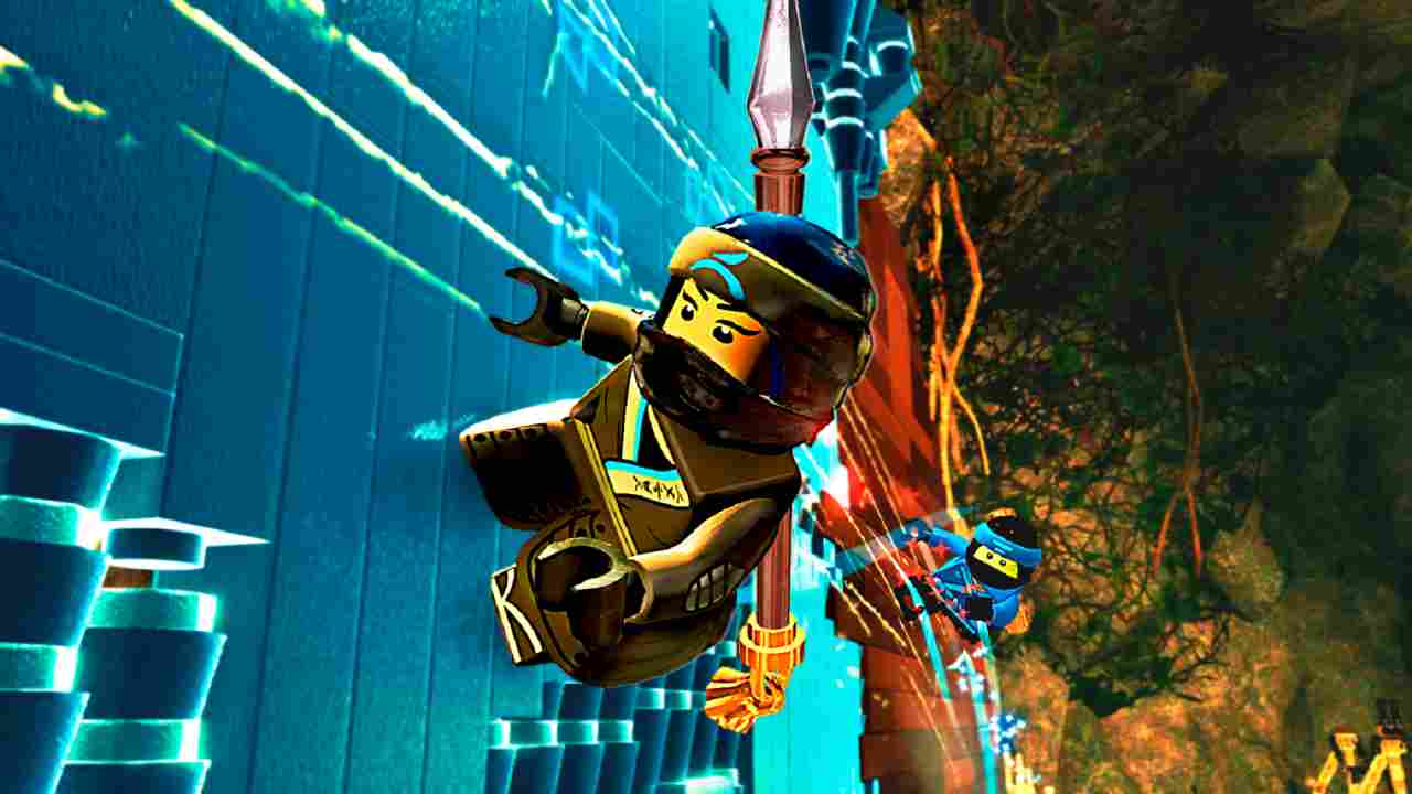 The LEGO Ninjago Movie Video Game Background Image