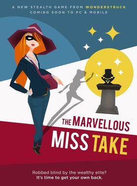 The Marvellous Miss Take Key Art