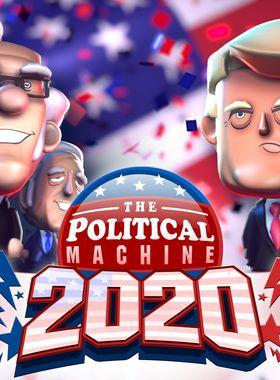 The Political Machine 2020 Key Art