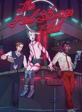 The Red Strings Club Key Art
