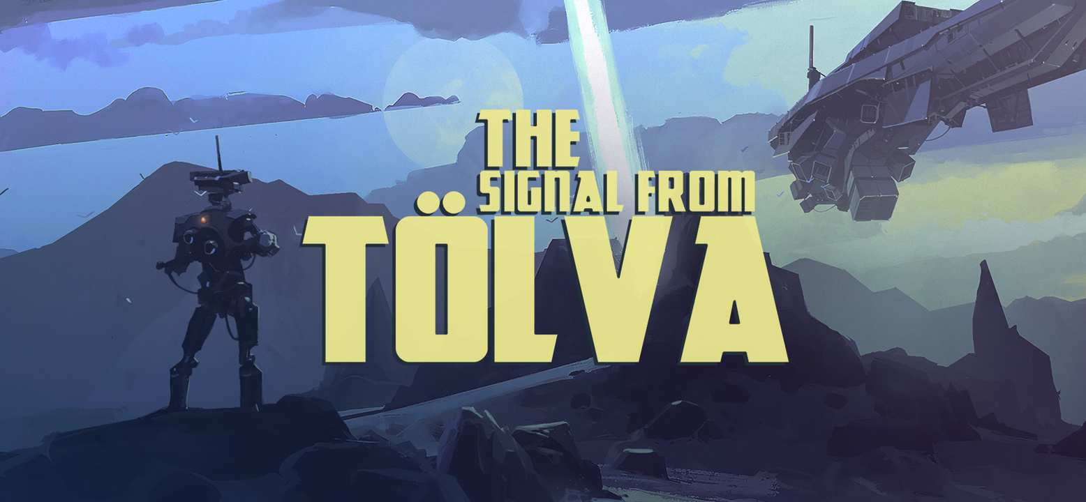 The Signal From Tölva Background Image
