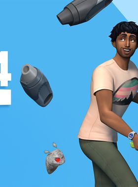 The Sims 4 Bust the Dust Kit Key Art