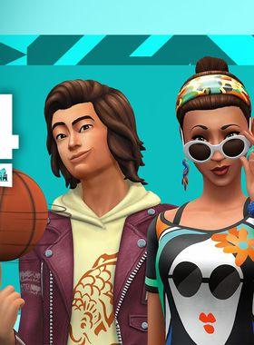 The Sims 4: City Living Key Art