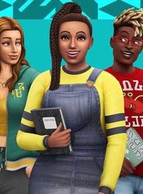 The Sims 4: Discover University Key Art