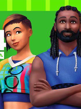 The Sims 4: Fitness Stuff Key Art