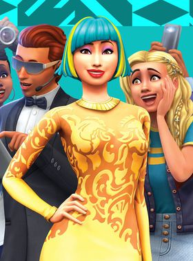 The Sims 4: Get Famous Key Art