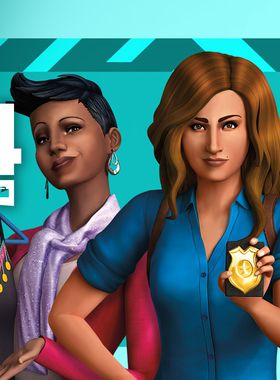 The Sims 4: Get to Work Key Art