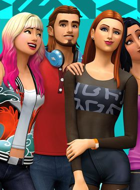 The Sims 4: Get Together Key Art