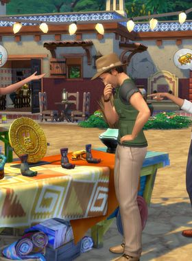 The Sims 4: Jungle Adventure Key Art