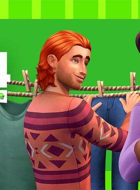 The Sims 4: Laundry Day Stuff Key Art