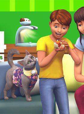 The Sims 4 My First Pet Stuff Key Art