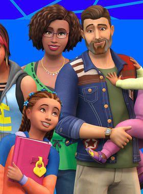 The Sims 4: Parenthood Key Art