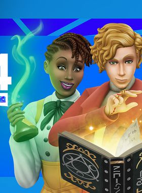 The Sims 4 Realm of Magic Key Art