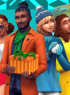 The Sims 4: Seasons Key Art