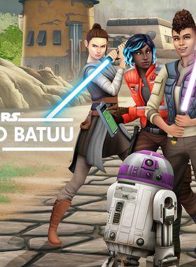 The Sims 4: Star Wars - Journey to Batuu Key Art