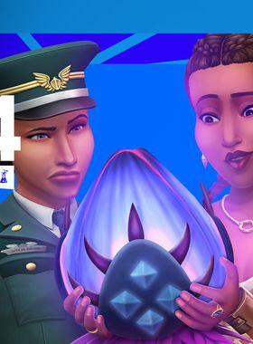 The Sims 4 StrangerVille Key Art