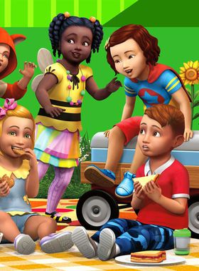 The Sims 4: Toddler Stuff Key Art