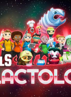 The Spatials: Galactology Key Art