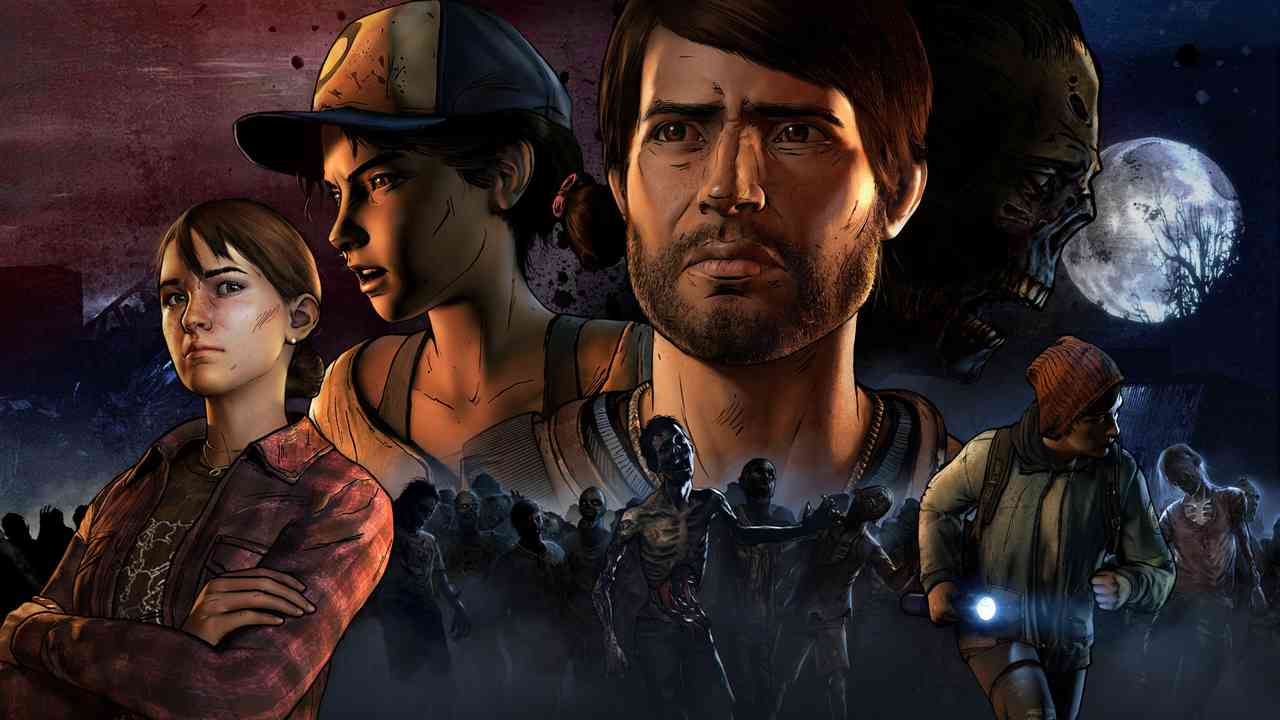 The Walking Dead:  A New Frontier - The Complete Third Season Background Image