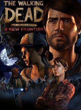 The Walking Dead:  A New Frontier Key Art