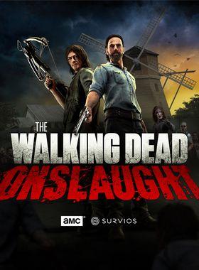 The Walking Dead Onslaught Key Art