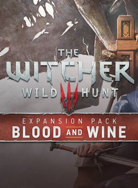 The Witcher 3: Wild Hunt - Blood and Wine Key Art
