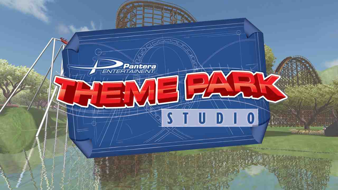Theme Park Studio Background Image