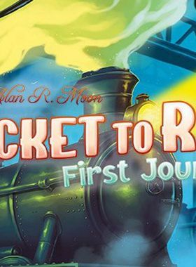 Ticket to Ride First Journey Key Art