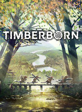 Timberborn Key Art