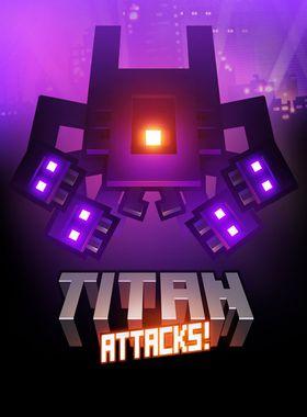 Titan Attacks! Key Art