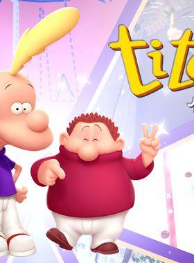 Titeuf: Mega Party Key Art