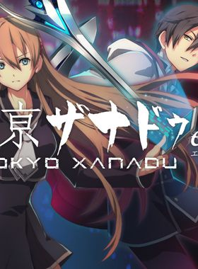 Tokyo Xanadu eX+ Key Art
