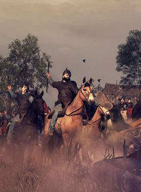 Total War: Attila: Slavic Nations Culture Pack Key Art