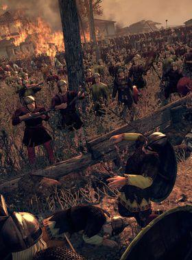 Total War: Attila Key Art