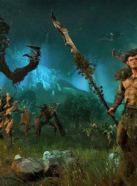 Total War: Realm of the Wood Elves Key Art