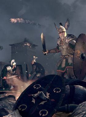 Total War: Rome 2: Empire Divided Key Art