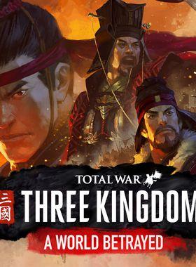 Total War: Three Kingdoms - A World Betrayed Key Art