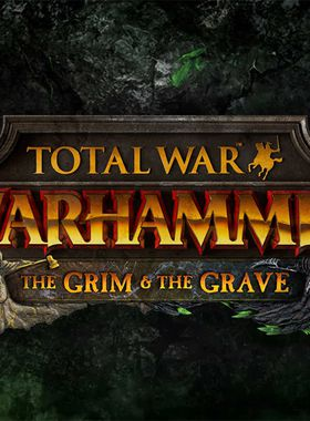 Total War: Warhammer: The Grim and the Grave Key Art