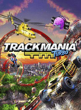TrackMania Turbo Key Art