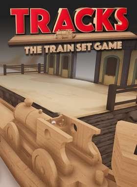 Tracks - The Train Set Game Key Art