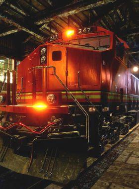 Train Mechanic Simulator 2017 Key Art