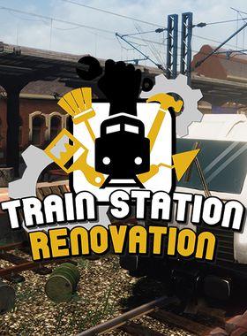 Train Station Renovation Key Art