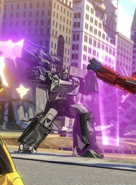 Transformers: Devastation Key Art